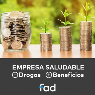 EMPRESA SALUDABLE: -Drogas +Beneficios.